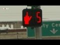 Say WHAT!?!? Traffic Light gives pedestrians the middle finger