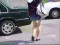 Woman on Yonge Street with Bad Bathroom Habits